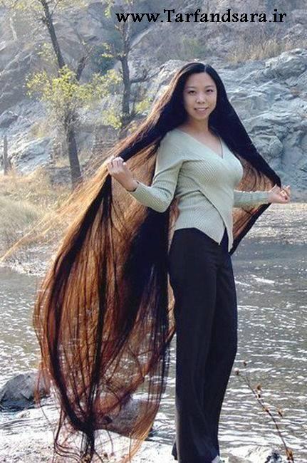 مو بلند ترین دختران جهان!!!! >_< 1